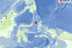 印尼马鲁古海北部发作5.7级地震